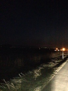 マオイの丘からの夜景