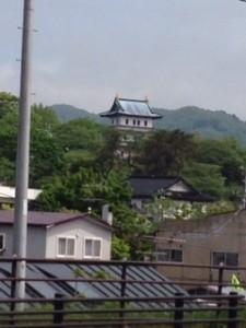 道の駅から松前城